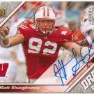 2009 UD Draft Matt Shaughnessy Rookie Auto