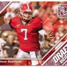 2009 UD Draft Matthew Stafford Rookie #68/75