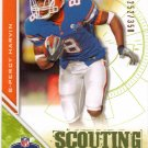 2009 UD Draft Percy Harvin Scouting Report #252/350