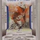 2009 Prestige Brian Orakpo Draft Picks Auto #194/299