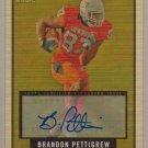 2009 Topps Magic Brandon Pettigrew Rookie Auto