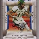 2009 Prestige Ramses Barden Rookie Auto #19/299