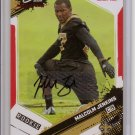 2009 Score Inscriptions Malcolm Jenkins Red Zone RC Auto #14/30