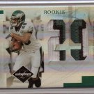 2007 Leaf Limited Tony Hunt Jumbo 3 Color Patch Rookie #10/10