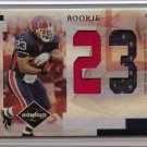 2007 Leaf Limited Marshawn Lynch Jumbo 2 Color Patch Rookie #5/10