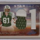 2008 Absolute Dustin Keller Jumbo 2 Color Patch RC #6/10