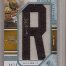 2009 SP Threads DJ Moore Letterman Auto #4/10