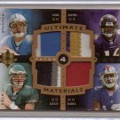 2007 Ultimate Kolb / Stanton / Figures / Smith Quad Patch RC #7/10