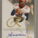 2003 Ultimate Seneca Wallace Rookie Auto #123/250