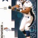 2007 LR&S Tim Crowder Rookie #729/999