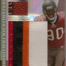 2007 Absolute Gaines Adams Jumbo 4 Clr Patch & 3 Clr Ball Spectrum RC #1/10