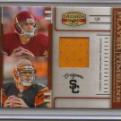 2007 Gridiron Gear Carson Palmer Player Timeline USC Paint Patch #4/15