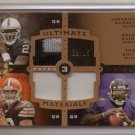 2007 Ultimate J. Russell / B. Quinn / T. Smith 5 Clr Triple Patch RC #11/15
