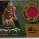 2000 POTG Steve Young 2nd Down Jersey #61/100