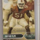 2004 UD Jonathan Vilma Exclusives Rookie #3/10
