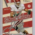 2010 Classics Juaquin Ingelsias School Colors Auto