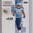 2007 Playoff Chris Henry PROOF Rookie #3/5