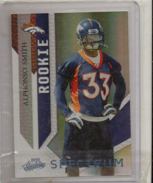 2009 Absolute A;phonso Smith Spectrum Rookie #1/5