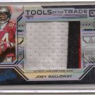 2008 Absolute Joey Galloway Jumbo TOTT 3 Clr Patch #5/5