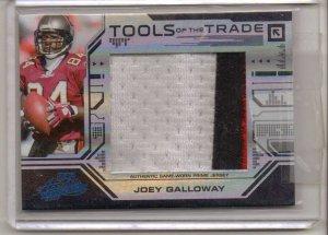 2008 Absolute Joey Galloway Jumbo TOTT 3 Clr Patch #5/5
