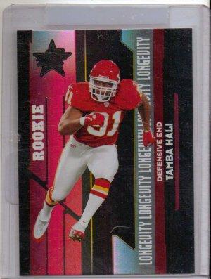 2006 LR&S Tamba Hali Longevity Rookie #5/10 Kansas City Chiefs