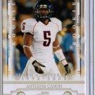 2008 Prestige Antoine Cason 10th Anniversary Rookie #5/10
