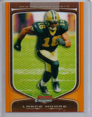 2009 Bowman Chrome Lance Moore Refractor #12/25