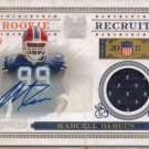 2011 National Treasures Marcel Dareus Rookie Jersey Auto #55/100