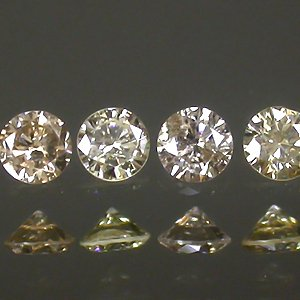LOT!!! 12Pcs/1.19 ct Natural Sparkling Champagne Diamonds