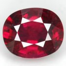 2.18ct Bright 100%Natural Blood Red Ruby