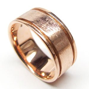 Look!!! Beautiful 10K Rose Gold Ring Size 6.75