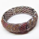 W@W!!! 925 Sterling Silver Black Color Plated Bangle