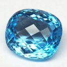 Look!!! 21.21ct Natural Sparkling Blue Topaz
