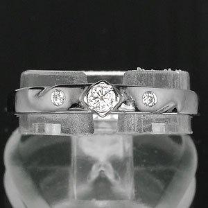 ** NICE ** natural sparkling Diamond ring on white gold setting