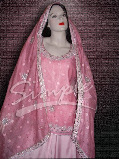 Pink Lehenga 042