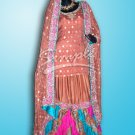 Colorful Peach Gharara 088