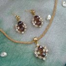 Gold plated Silver Set J 10