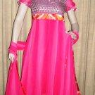 Pink Georgette 0152