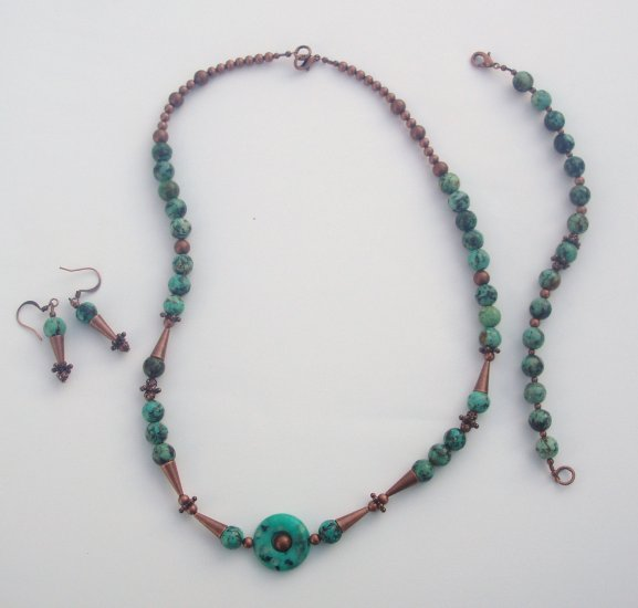 African Turquoise Treasure