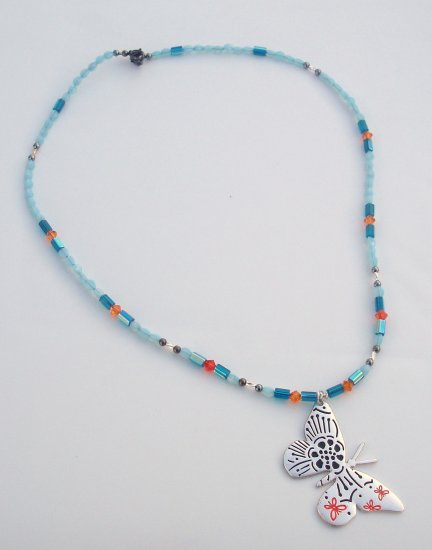 Butter Flutter by Necklace