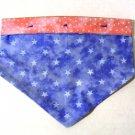 Small - Dog Bandana - Pink and Blue Stars