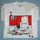 Who Me??!! Cat T-Shirt - (Medium)