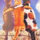 """""""Friends Furever"""" Matted Cat Print"""