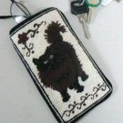 Black Cat Needle Point Eye Glass Case