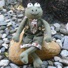 Felt Plush Stuffed Animal Frog - Jack