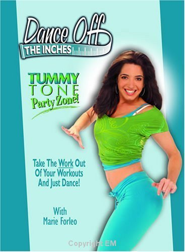 Fitness Dance Off The Inches Tummy Tone Party DVD with Marie Forleo