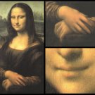 Mona Lisa Masterpiece Art Soap Bar Set Handcrafted USA