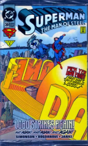 Superman 30 Vinyl Clings + 37 + 38 + 39 + 44 + 45 + 50