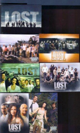 Lost Promo L1-1 L1-DS SD-1 L-SD2004 LR-1 LR-SD2006 L2