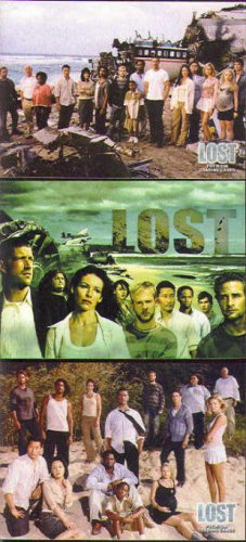 Lost Season One 1 Promos L1-1 + L1-MS + L-SD2004